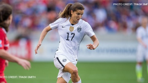 Tobin Heath Ruled Out of USWNT Games vs. Canada