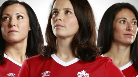 Rhian Wilkinson, Melissa Tancredi, and Marie-Eve Nault announce retirements