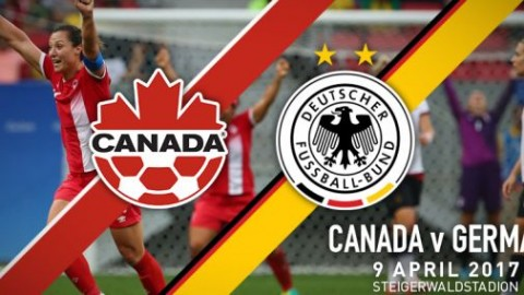 Canada to play Olympic Champion Germany in April