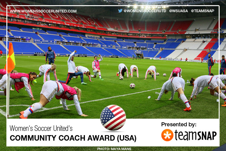 Coach Award presented by TeamSnap