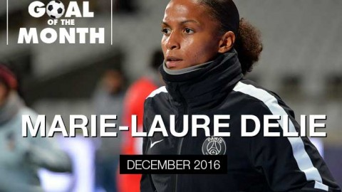 Marie-Laure Delie wins WSU Goal of the Month – December 2016