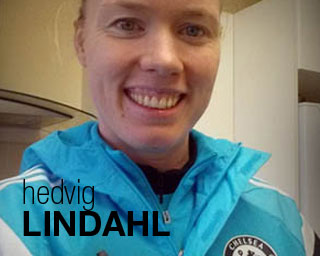 Hedvig Lindahl blog on Women's Soccer United