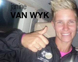 Janine Van Wyk blog on Women's Soccer United