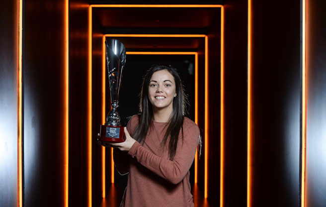 Shelbourne Ladies star Noelle Murray wins the Continental Tyres Women's National League Player of the Year