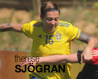Therese Sjögran blog on Women's Soccer United