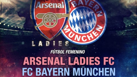 Arsenal Ladies face Bayern Munich in an International club friendly on 1 February