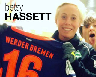 Betsy Hassett blog on Women's Soccer United