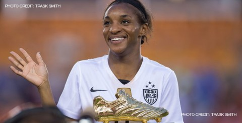 North Carolina Courage Forward Crystal Dunn Voted NWSL Player of the Month