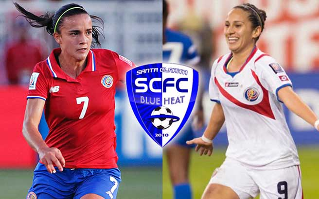 Melissa Herrera & Carolina Venegas will don the Blue Heat colors in 2017