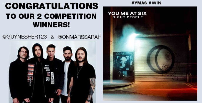 You Me At Six highly anticipated new album 'Night People' winners