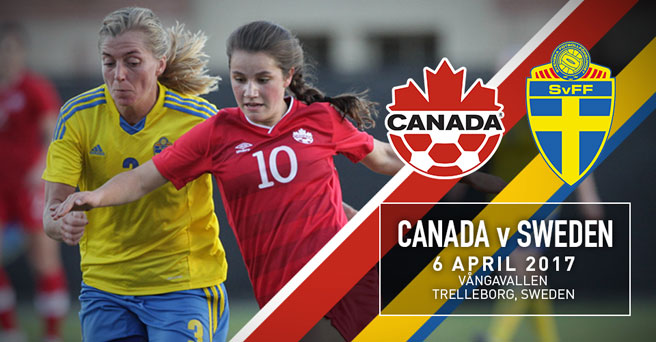 Canada Soccer announces April Women's National Team match against Sweden