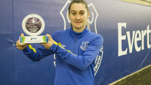 Claudia Walker crowned the SSE Women's FA Cup player of the third round