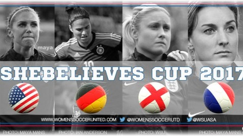 Jill Ellis names 25 players to a training camp prior to 2017 SheBelieves Cup