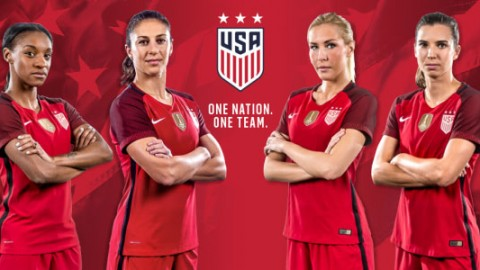 U.S. Soccer unveils new red 2017 National Team Kit, USWNT will debut Red Kit at SheBelieves Cup