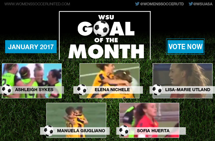 VOTE: January's WSU Goal of the Month