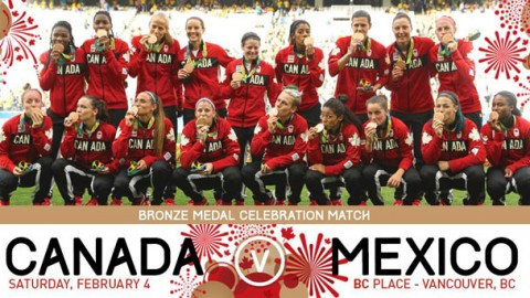 Canada Soccer Women's National Team Vancouver Camp Roster