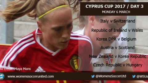 Day 3 at the 2017 Cyprus Cup