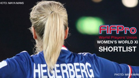 FIFPro reveals 55-player-shortlist for Women's World XI