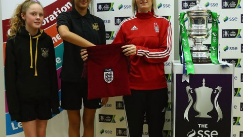 Two all-FA WSL 2 ties in the fourth round of the SSE Women's FA Cup
