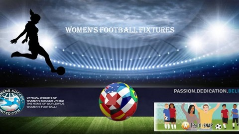 Women's Weekend Football Fixtures 25th and 26th February 2017