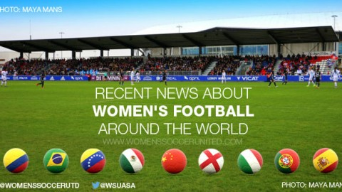 Women's football is a global village: Recent news about women's football around the world