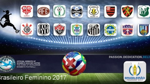 Brasileiro Feminino 2017 Match Day Three Results 27th March