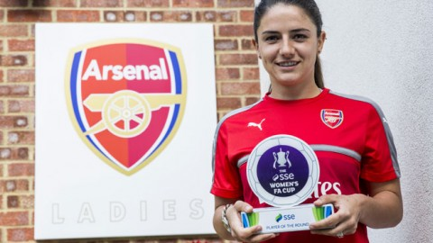 Danielle van de Donk wins SSE Women's FA Cup Player of the fifth round