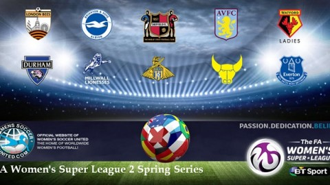 Durham Women Lead FA Women's Super League Two Spring Series