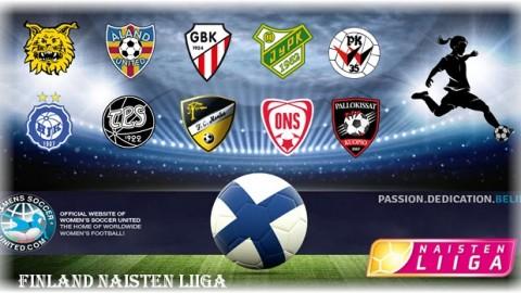 Finland's Naisten Liiga Match Results 26th March 2017