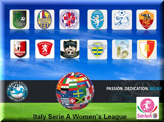 Italy serie a femminile match results 18th march 2017 - Italy serie a table and results ...