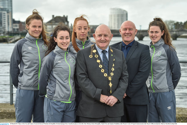 Dave Connell announces Republic of Ireland Women's Under 19s squad for Elite Round qualifiers