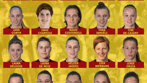 Belgium squad announced for friendly matches against Spain and Scotland