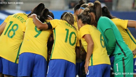 Unconfirmed reports: Brazil to compete at 2018 Algarve Cup and play England in international friendly in April!