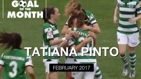 Tatiana Pinto wins WSU Goal of the Month – February 2017