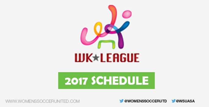 2017 WKLeague Schedule