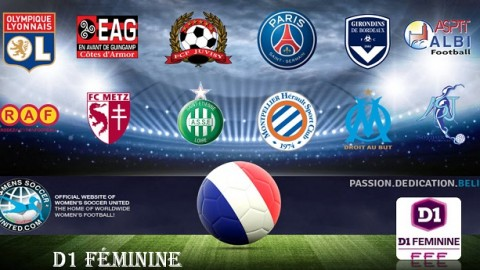 French D1 Féminine Results 23rd April 2017