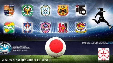 Japan Nadeshiko League Match Results Sunday 2nd April 2017
