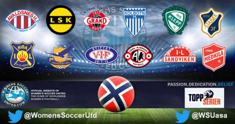 Norway Toppserien Opening Day League Results 17th April 2017