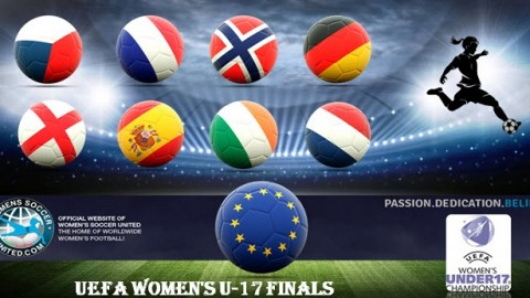 UEFA Women's U-17 Championship Finals 2017 The Teams