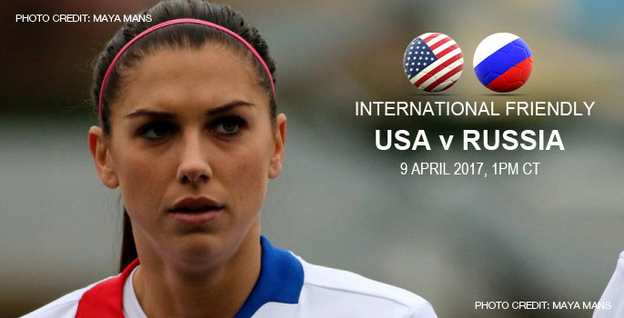 USA v Russia | International friendly (9 April 2017)