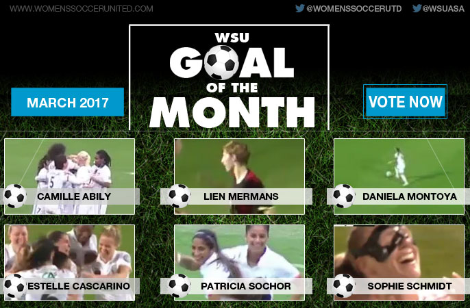 VOTE: March's WSU Goal of the Month