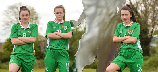 Dave Bell names squad for the UEFA Women's Under 17 European Championships