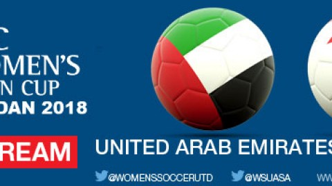 Live Stream: United Arab Emirates v Bahrain | AFC Women's Asian Cup Jordan 2018 Qualifiers