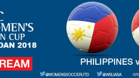 Live Stream: Philippines v Iraq | AFC Women's Asian Cup Jordan 2018 Qualifiers