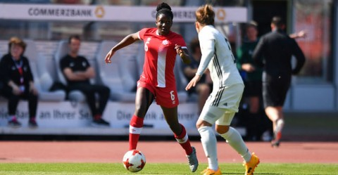 Match report: Canada knocking on the door of the world's top teams