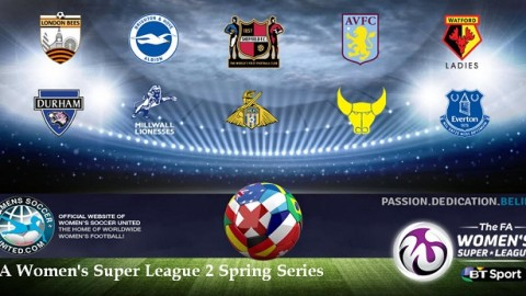 Durham Women Lead FA Women's Super League 2 Spring Series