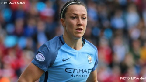 Lucy Bronze wins PFA Women's Player of the Year award for the second time