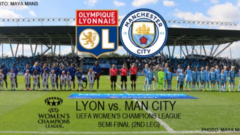 Live stream: Olympique Lyonnais v Manchester City (AGG: 3-1) | UEFA Women's Champions League (Semi-final, 2nd leg)
