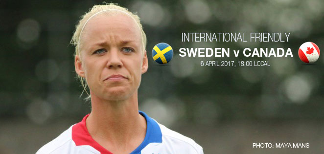 Live stream: Sweden v Canada | International friendly (6 April 2017)