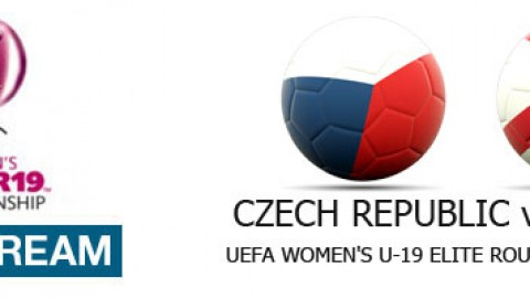 Live Stream: Czech Republic v England | UEFA Women's U-19 Elite Round (10 April)
